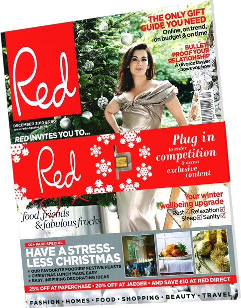 Belt-Band Digital Key on Red Magazine