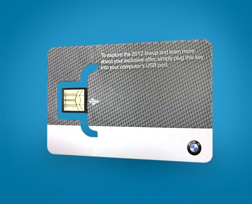 BMW Business Card Digital Key