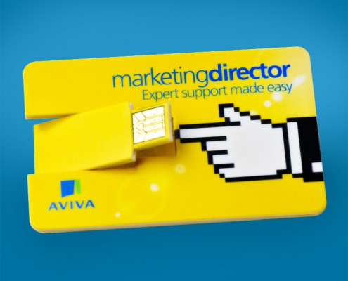 Aviva Business Card Digital Key