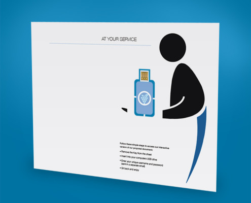 KPMG Large Format Insert Digital Key
