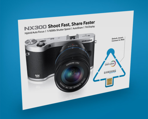 Samsung NX300 Digital Key