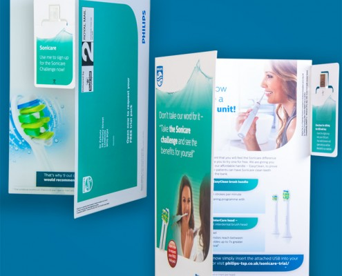 Philips Self Mailer Digital-Key